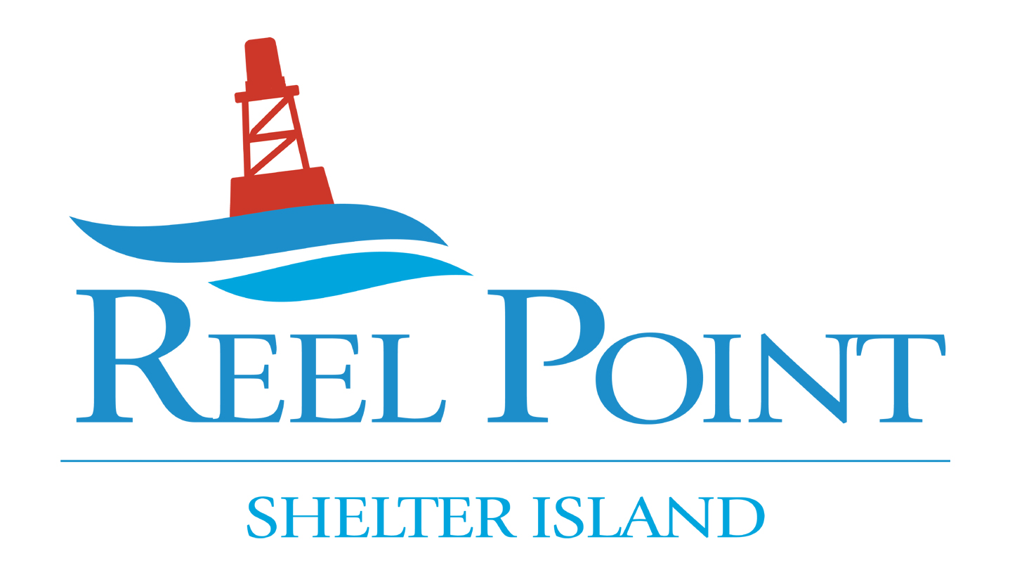 Reel Point Shelter Island Logo