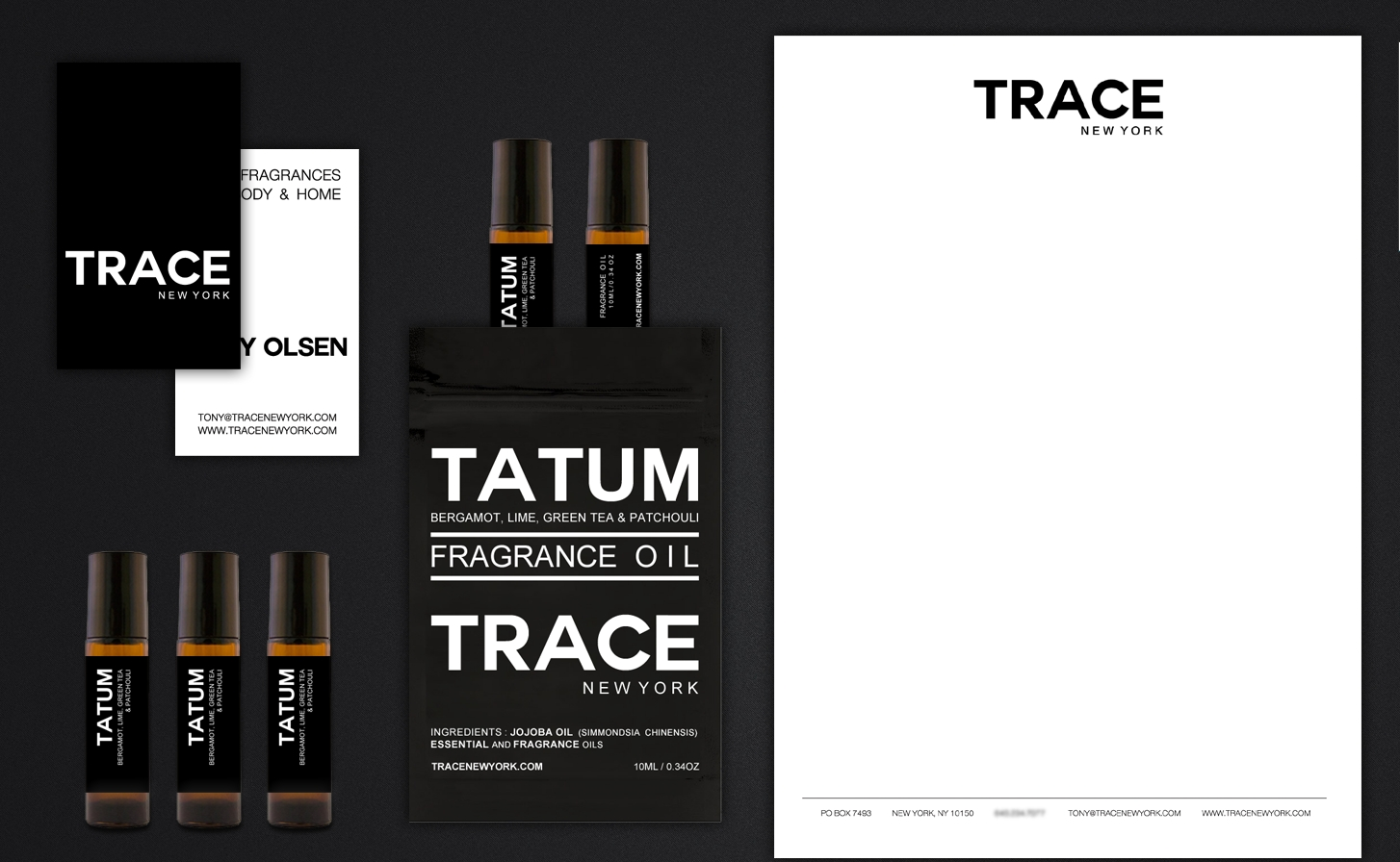 TRACE New York Brand Collateral