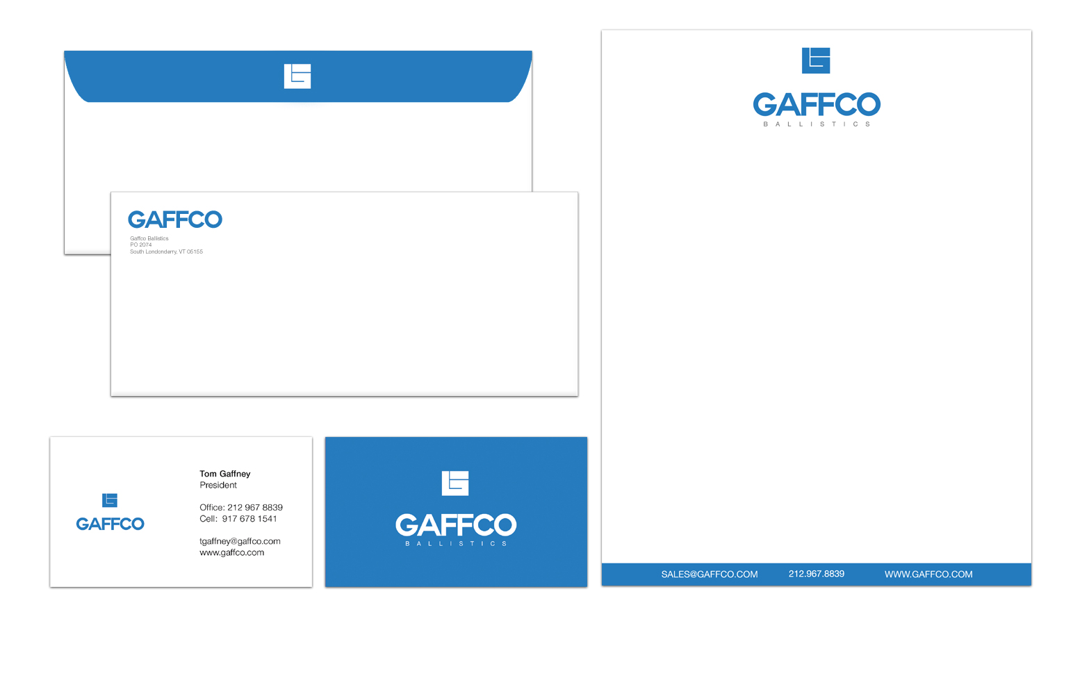 Gaffco Branding & Print Collateral