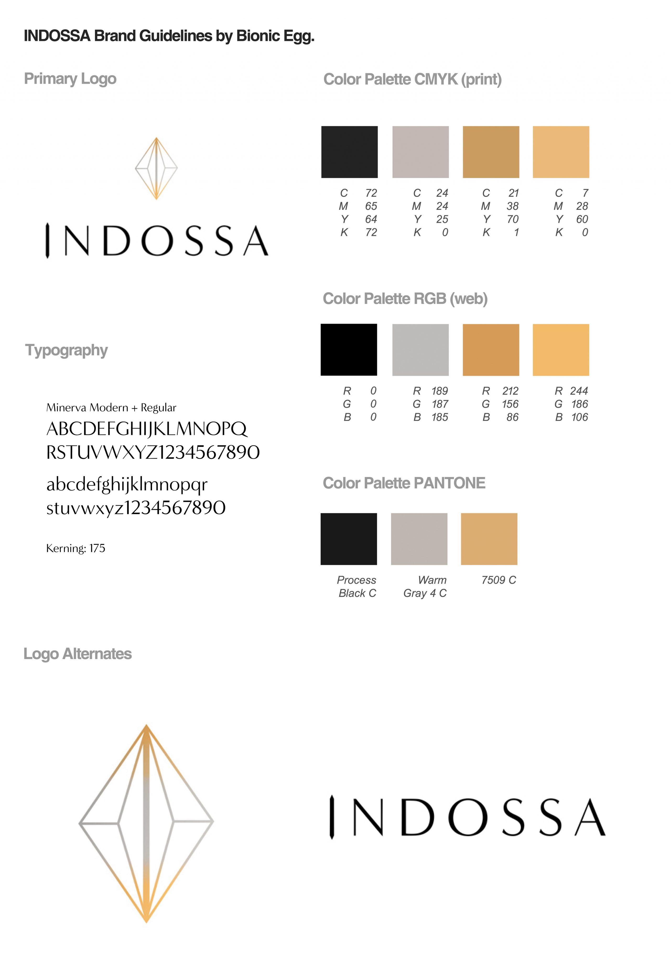 INDOSSA Brand Guidelines