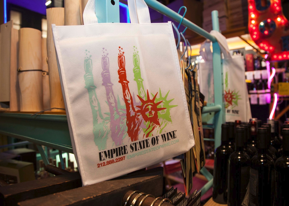Empire State of Wine Bags