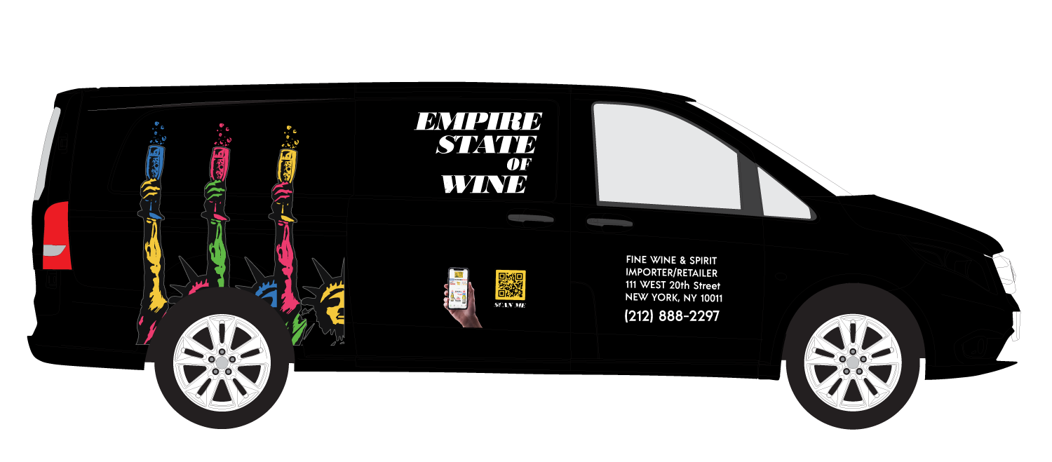 Empire State of Wine Branded Mercedes