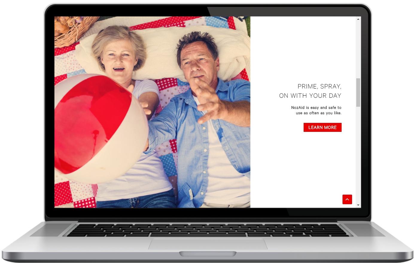 NozAid Website Layout