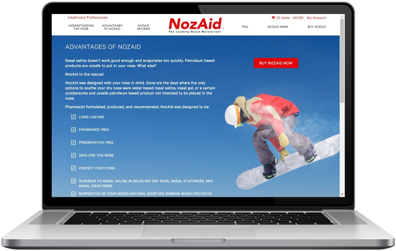 Nozaid Advantages