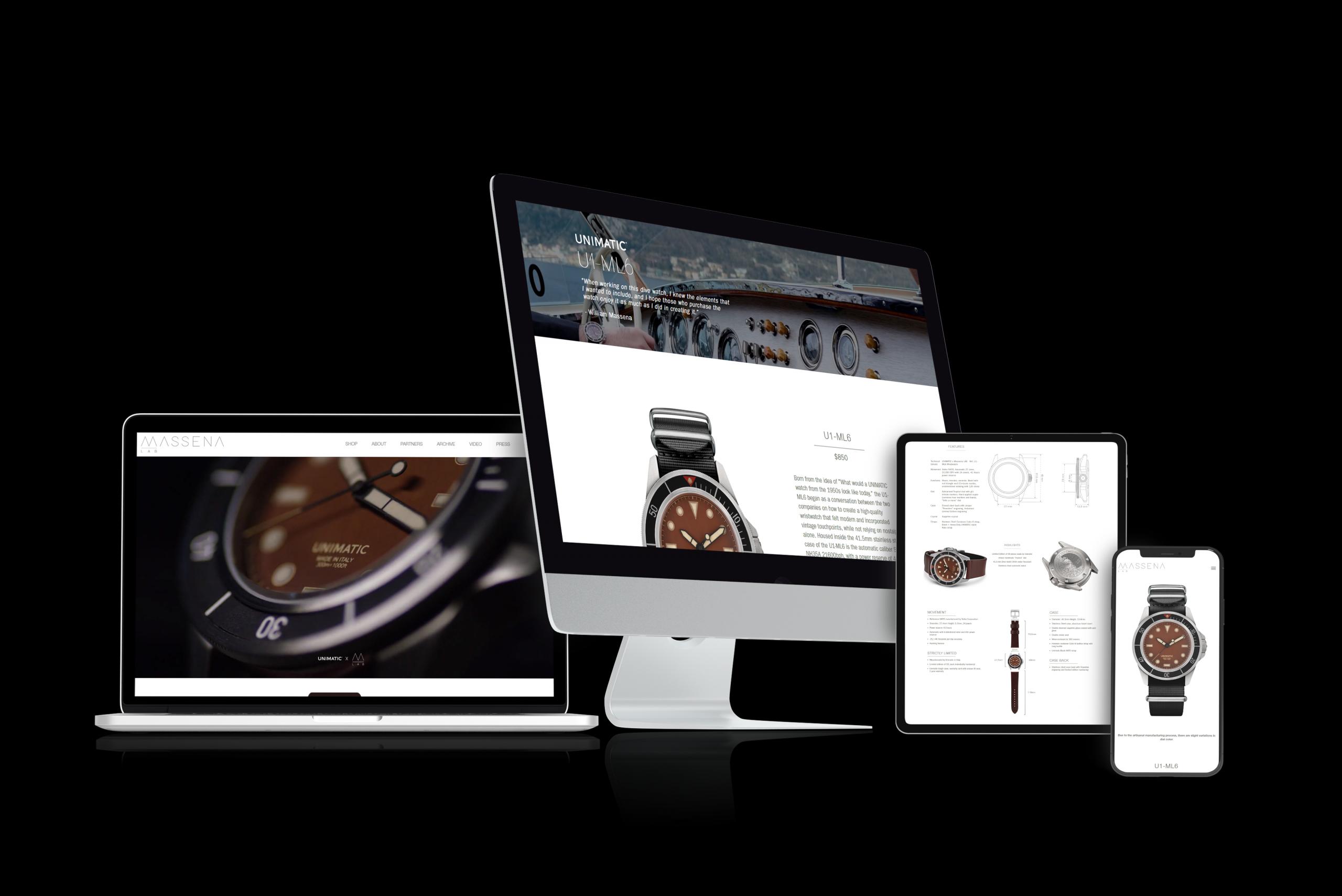 Massena LAB - Branding, Web Design & Development