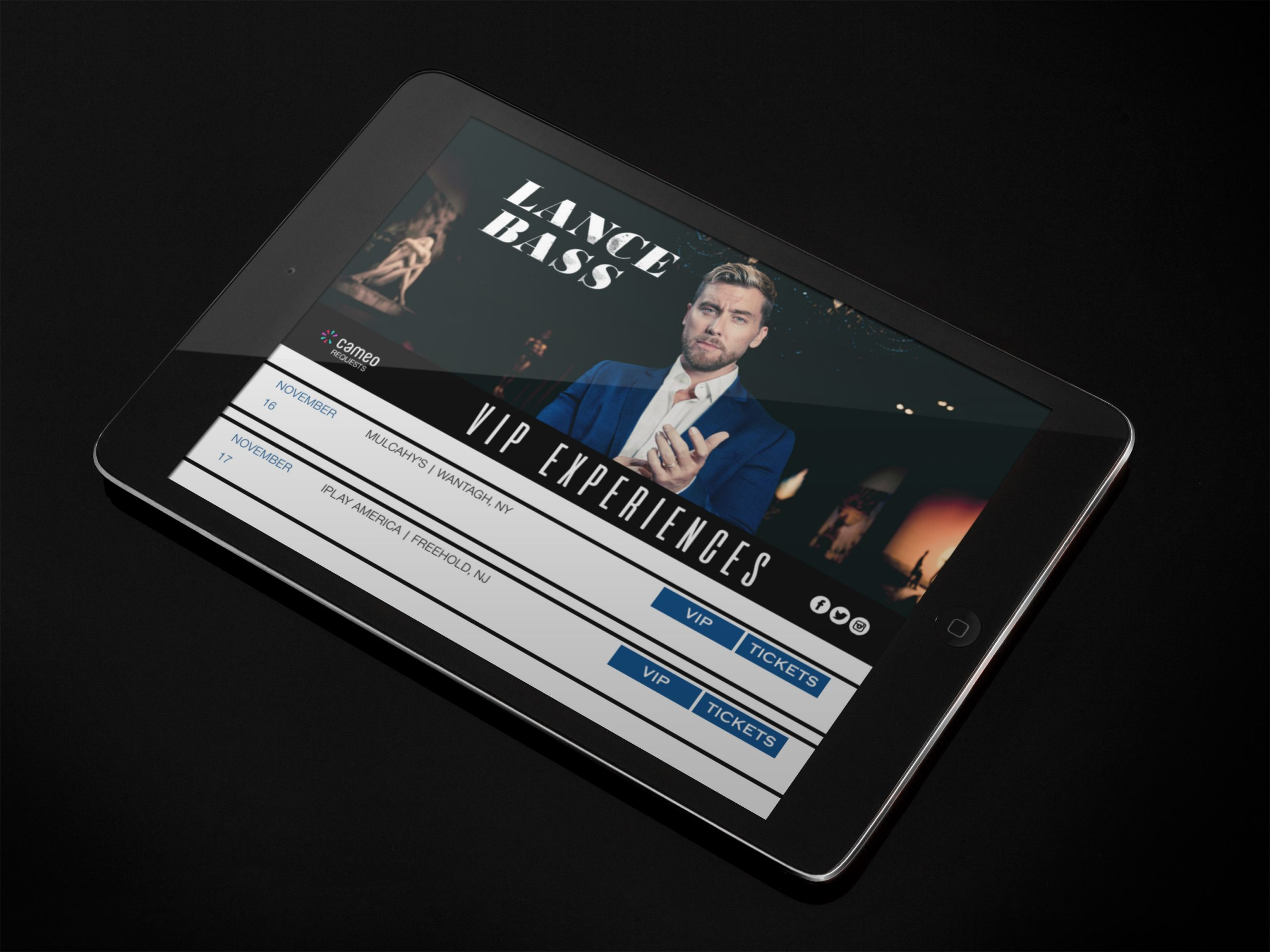 lance bass header clients