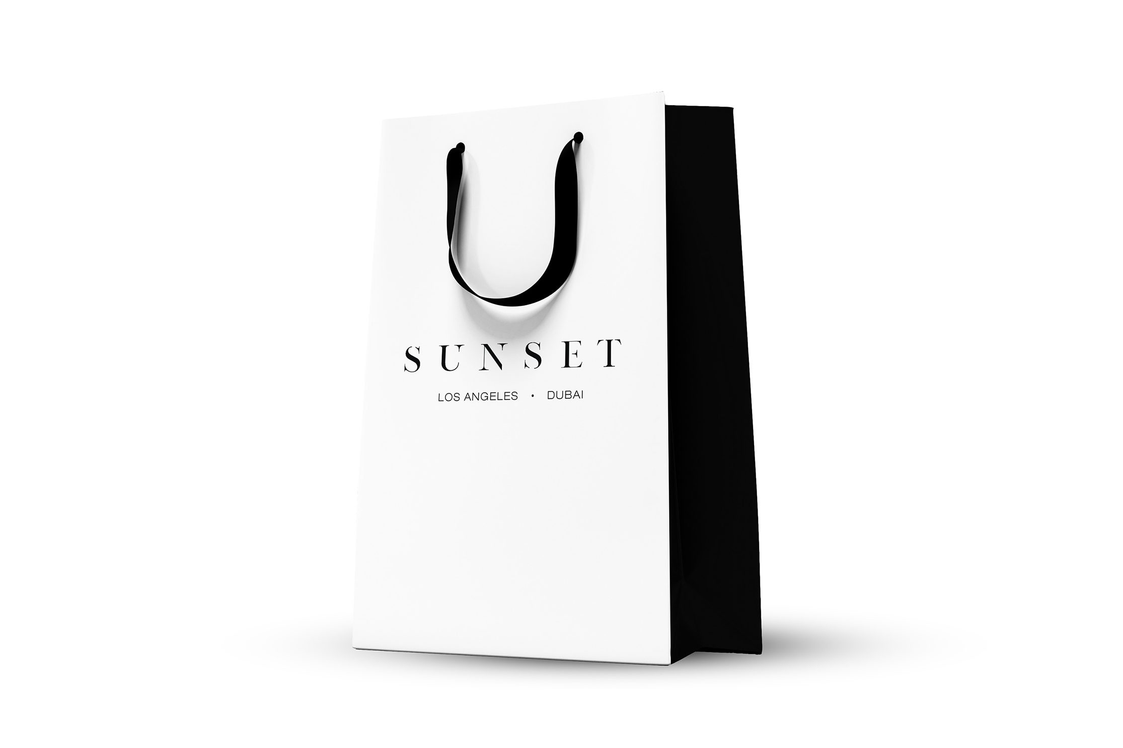 Sunset Cosmetic Surgery Branding Shopping Bag