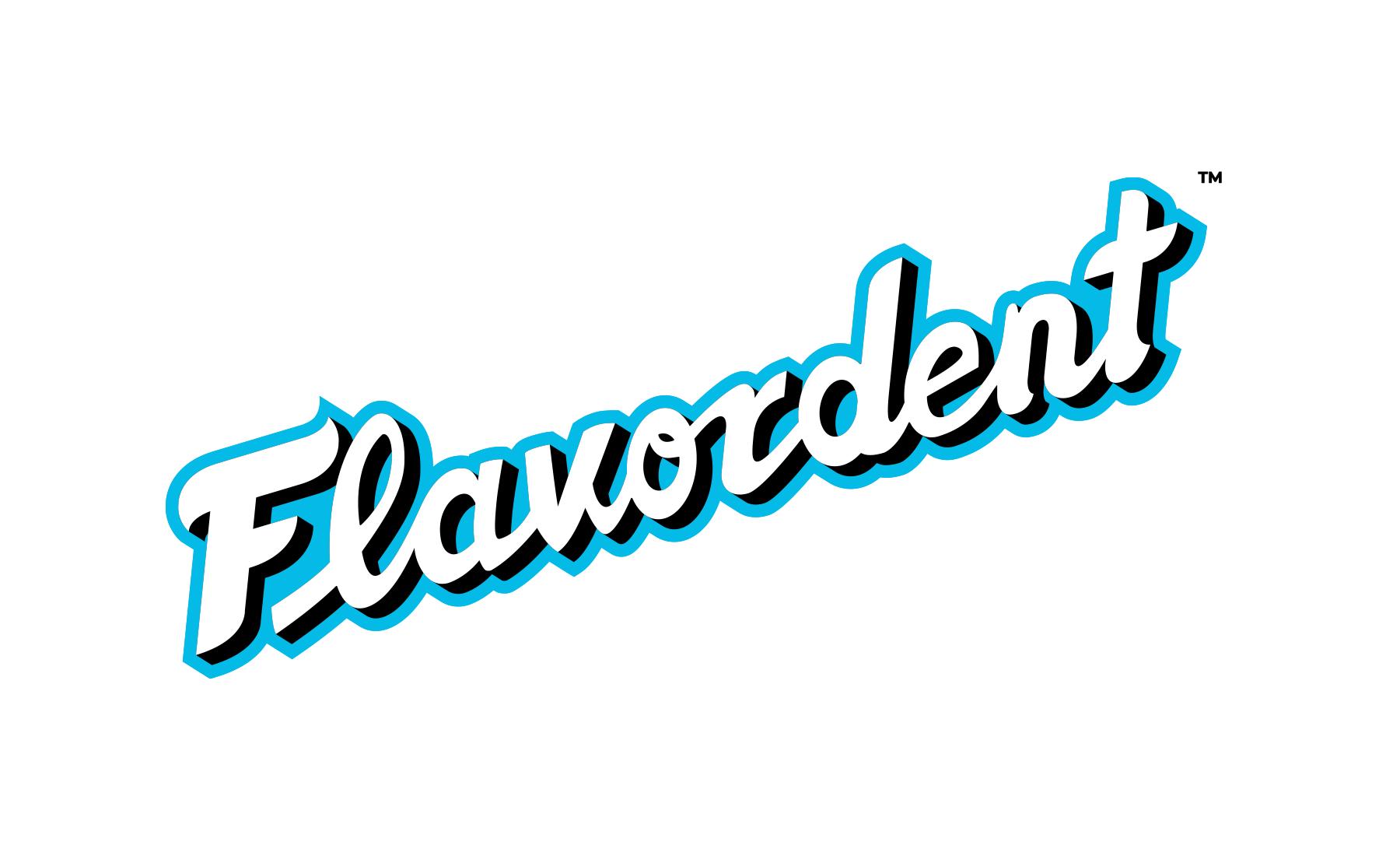 Flavordent Logo Brand Identity Bionic Egg